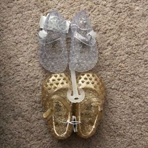 Baby jelly shoes bundle